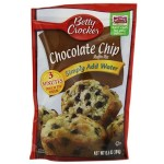 bc choco chip muffin mix 184gr